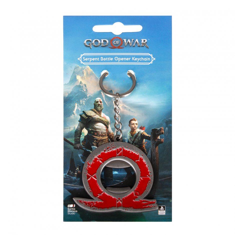 Брелок God of War Serpent Bottle Opener