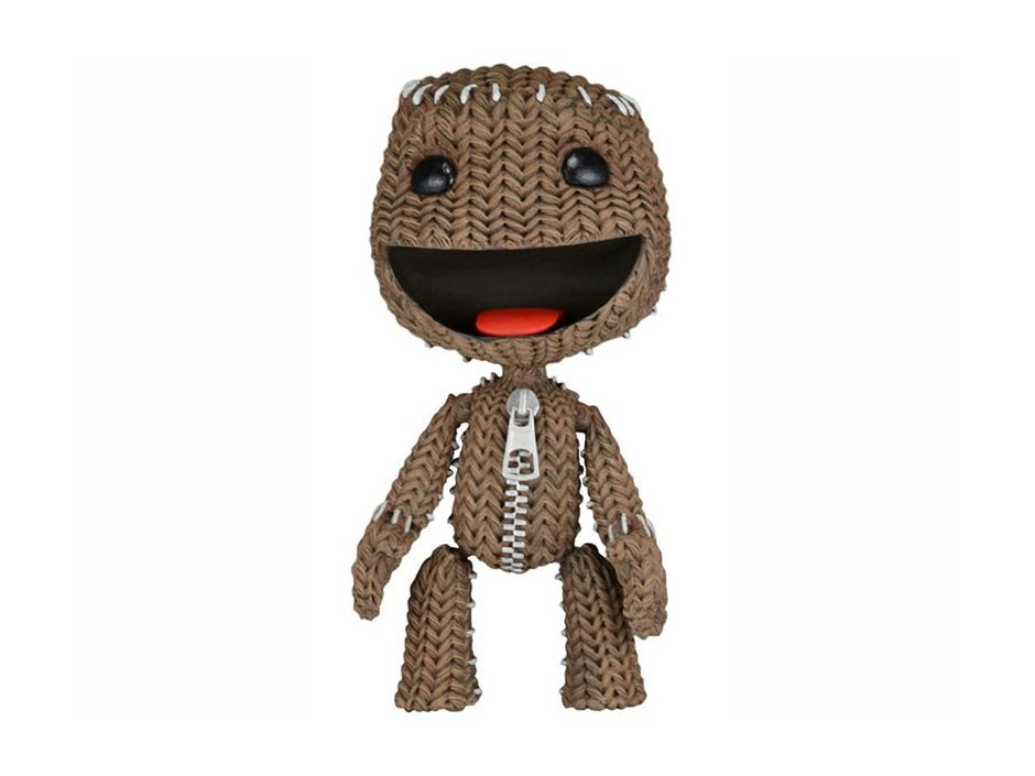 LittleBigPlanet Series 2. Happy Sackboy 13 см