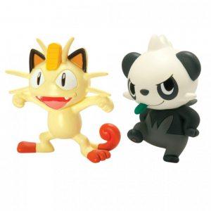 Набор фигурок Pokemon: Meowth и Pancham