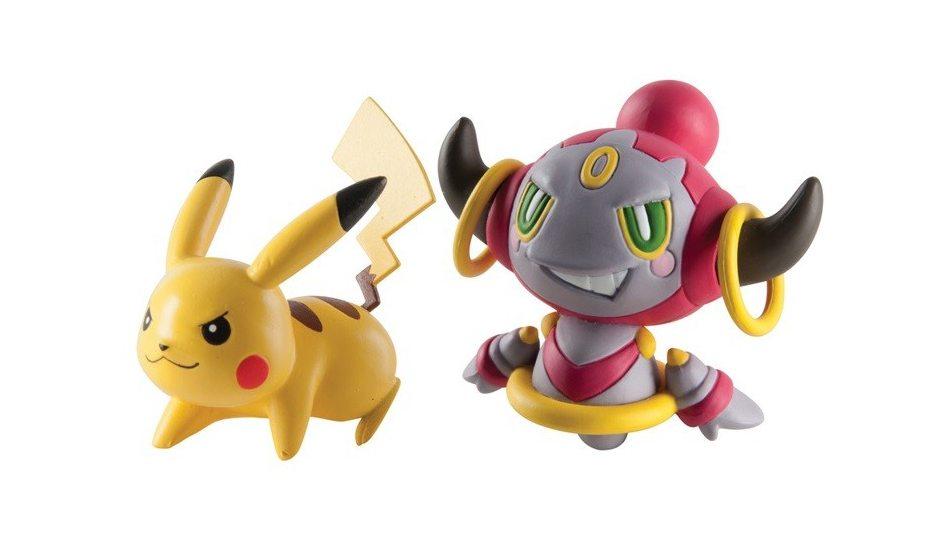 Набор фигурок Pokemon: Pikachu vs. Hoopa