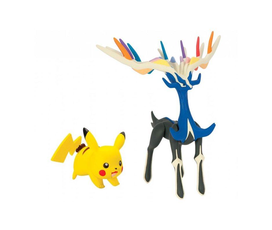 Набор фигурок Pokemon XY. Xerneas Pikachu