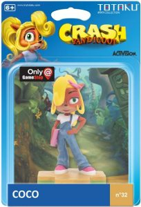 Описание фигурки TOTAKU Collection: Coco Bandicoot 10 см