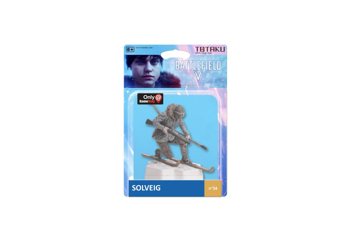 Фигурка TOTAKU Collection: Battlefield V Solveig 10 см