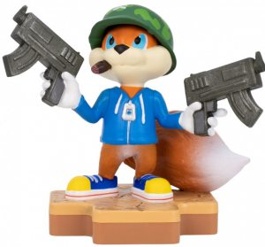 Фигурка TOTAKU Collection: Conker's Bad Fur Day Conker 10 см