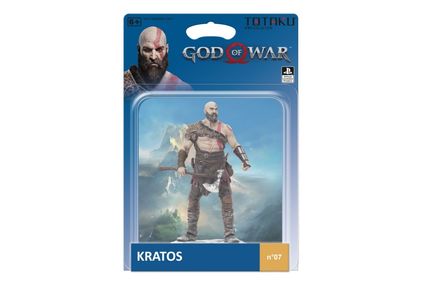 Фигурка TOTAKU Collection: God of War Kratos 10 см