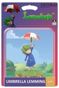 Фигурка TOTAKU Collection: Lemmings Umbrella Lemming 10 см