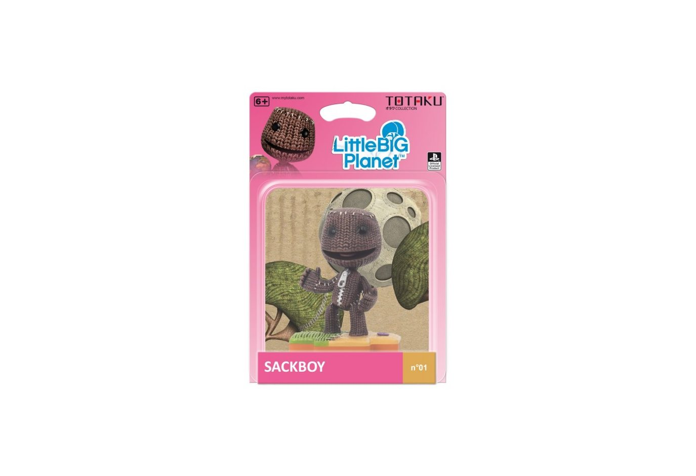 Фигурка TOTAKU Collection: Little Big Planet Sackboy 10 см
