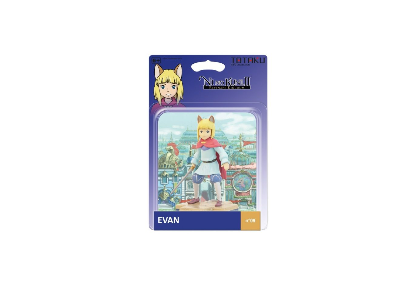 Фигурка TOTAKU Collection: Ni no Kuni II Evan 10 см