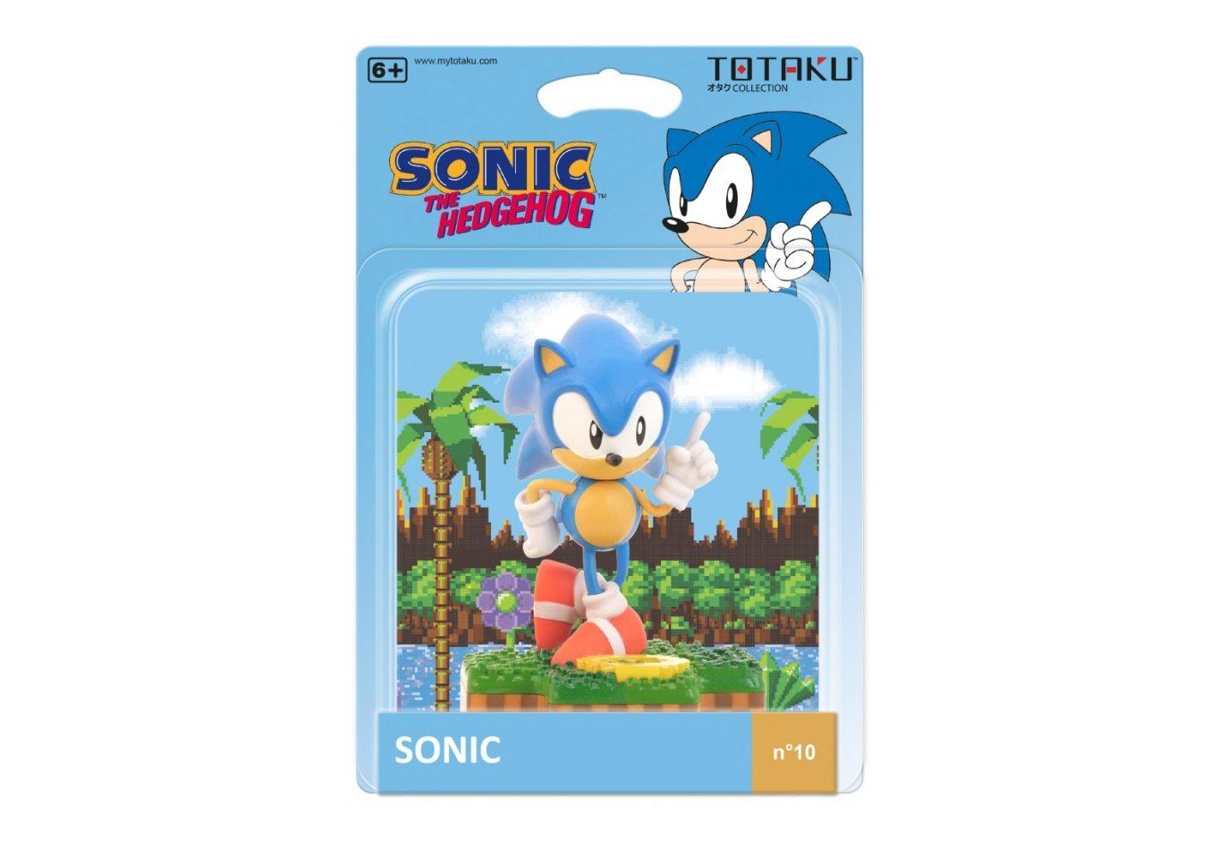 Фигурка TOTAKU Collection: Sonic the Hedgehog Sonic 10 см