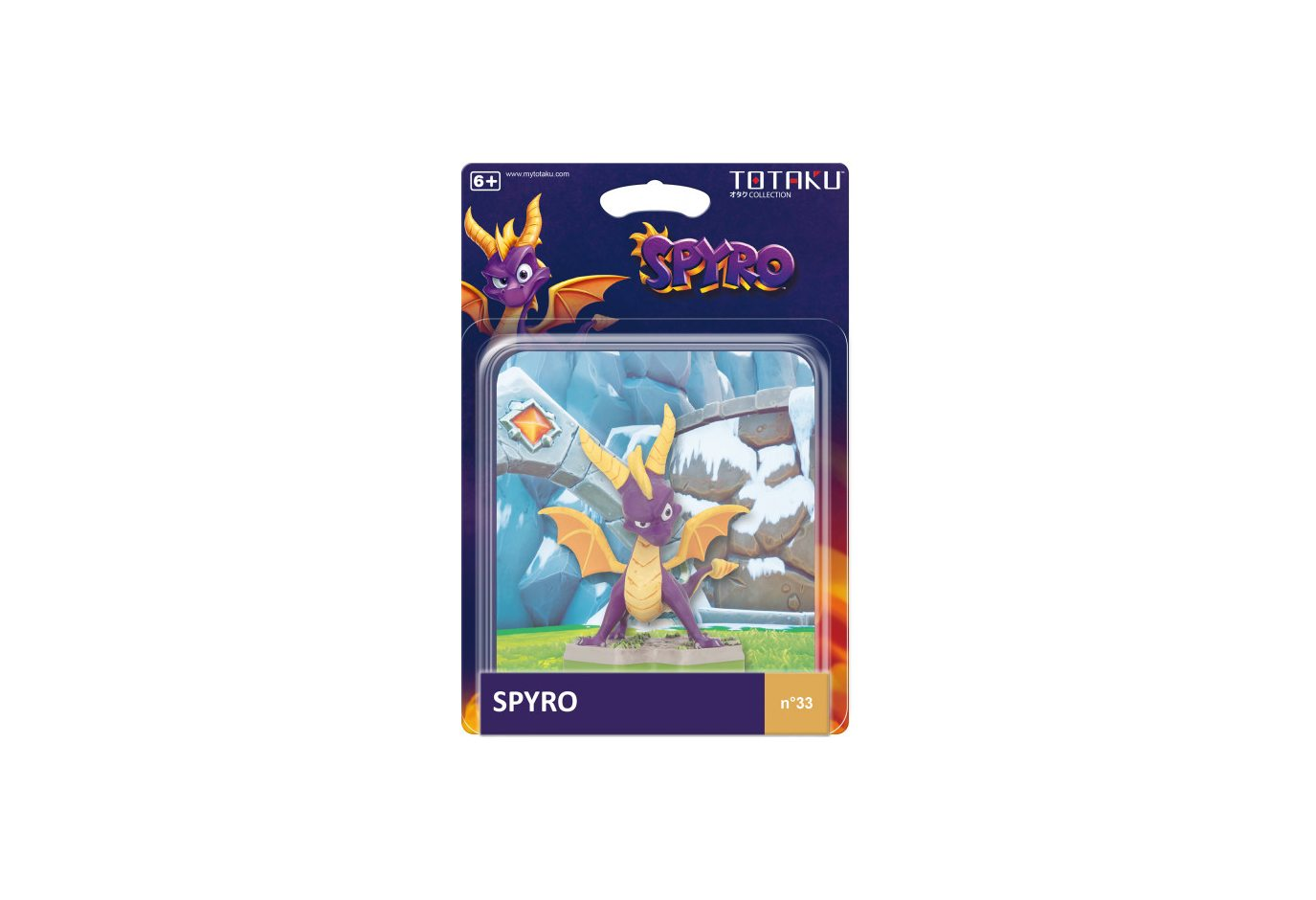 Фигурка TOTAKU Collection: Spyro Spyro 10 см