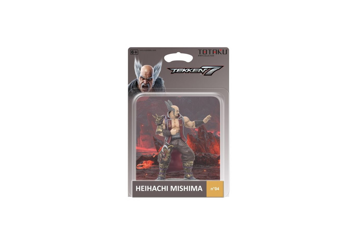 Фигурка TOTAKU Collection: Tekken 7 Heihachi Mishima 10 см