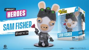 Ubisoft Heroes. Rabbids Sam Fisher