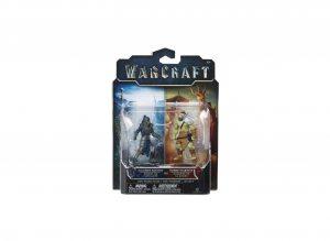 Набор фигурок Warcraft. Horde Warrior and Alliance Soldier. 2 в 1 7 см