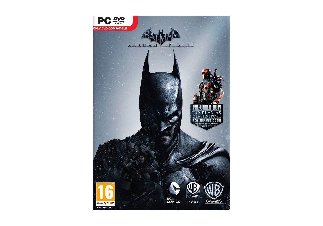 PC Batman: Arkham Origins (Batman: Летопись Аркхема) PC