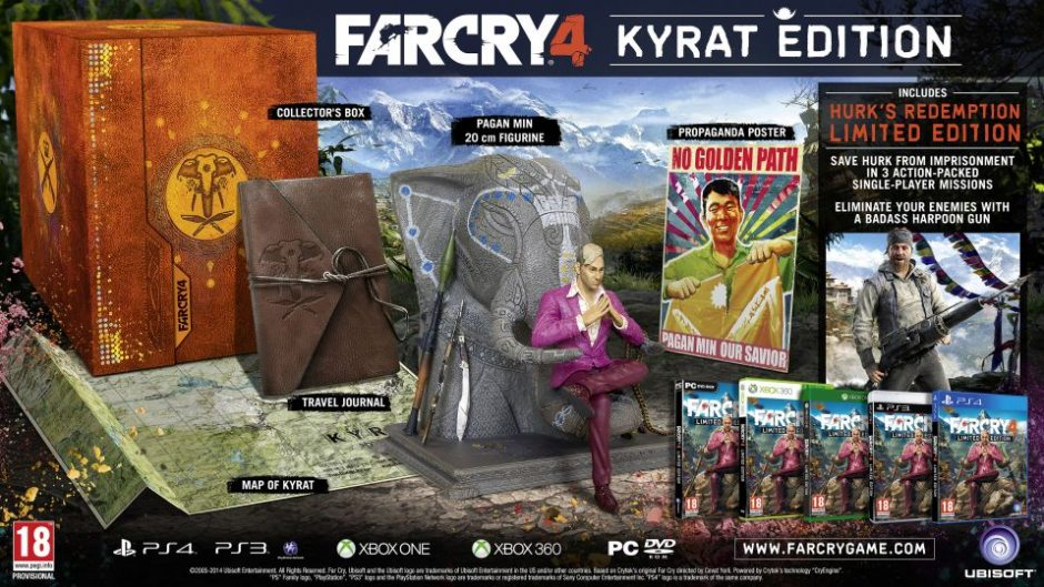 PC Far Cry 4. Kyrat Edition PC