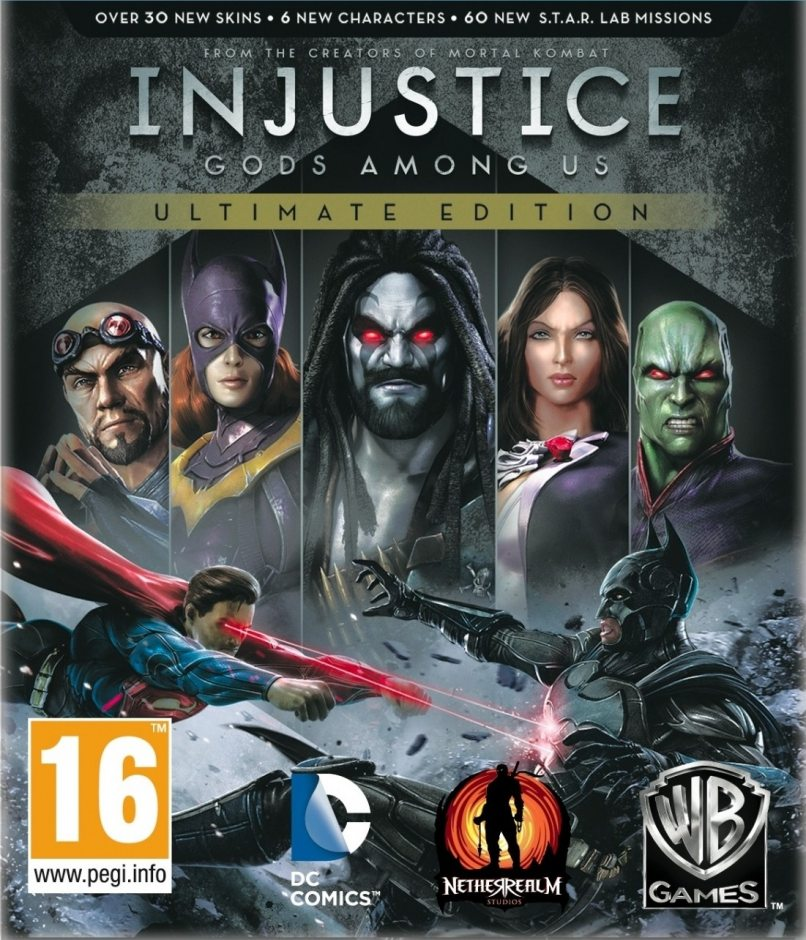 PC Injustice: Gods Among Us. Ultimate Edition PC