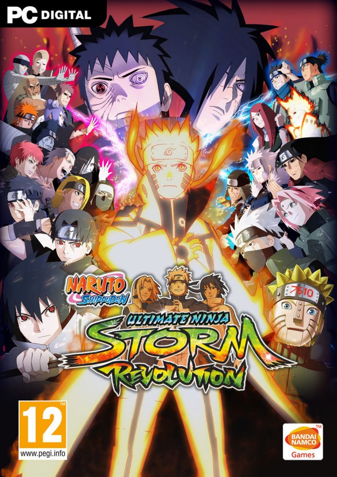 PC Naruto Shippuden Ultimate Ninja Storm Revolution PC