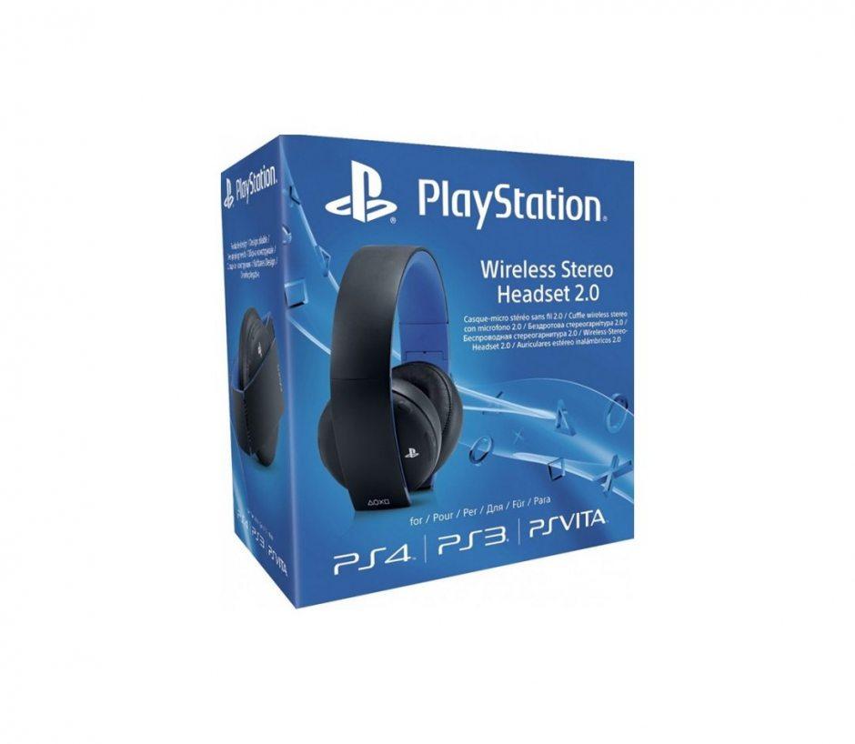 Беспроводная гарнитура для PS3 (черная, с поддержкой PS4 и PS Vita)