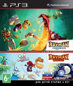 PS3 Комплект Rayman Legends и Rayman Origins