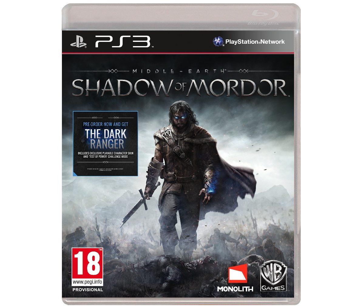 PS3 Средиземье: Тени Мордора PS3