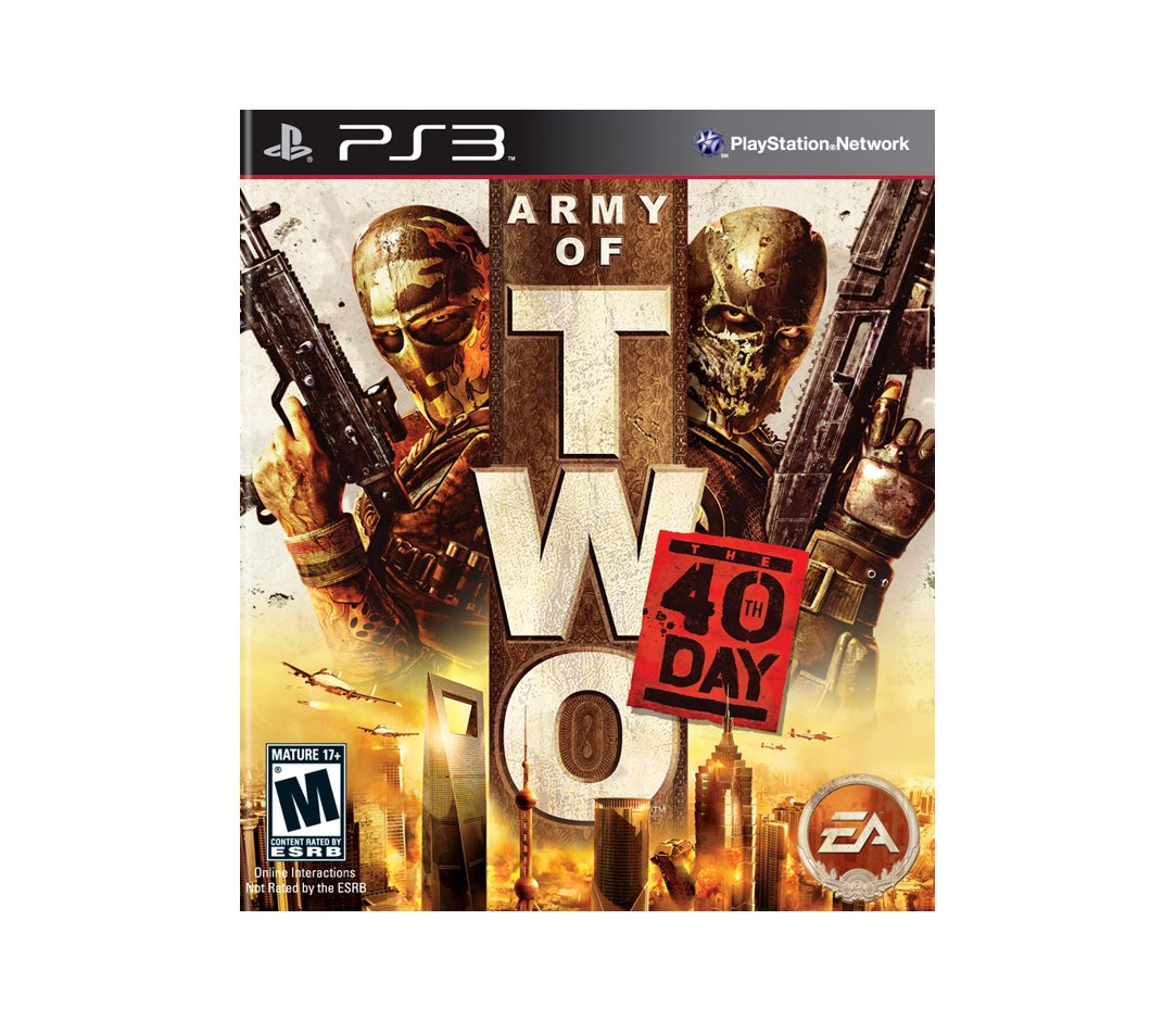 PS3 Army of Two: The 40th Day PS3