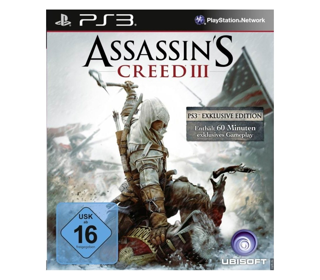 PS3 Assassin's Creed 3 PS3