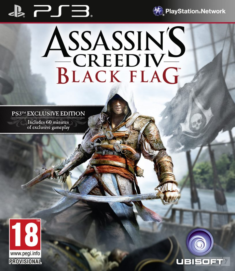 PS3 Assassin's Creed IV: Чёрный Флаг PS3