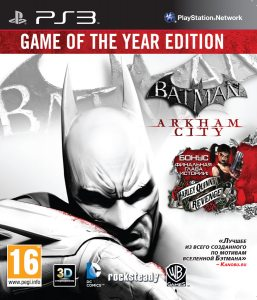 PS3 Batman: Arkham City. Game of the Year Edition