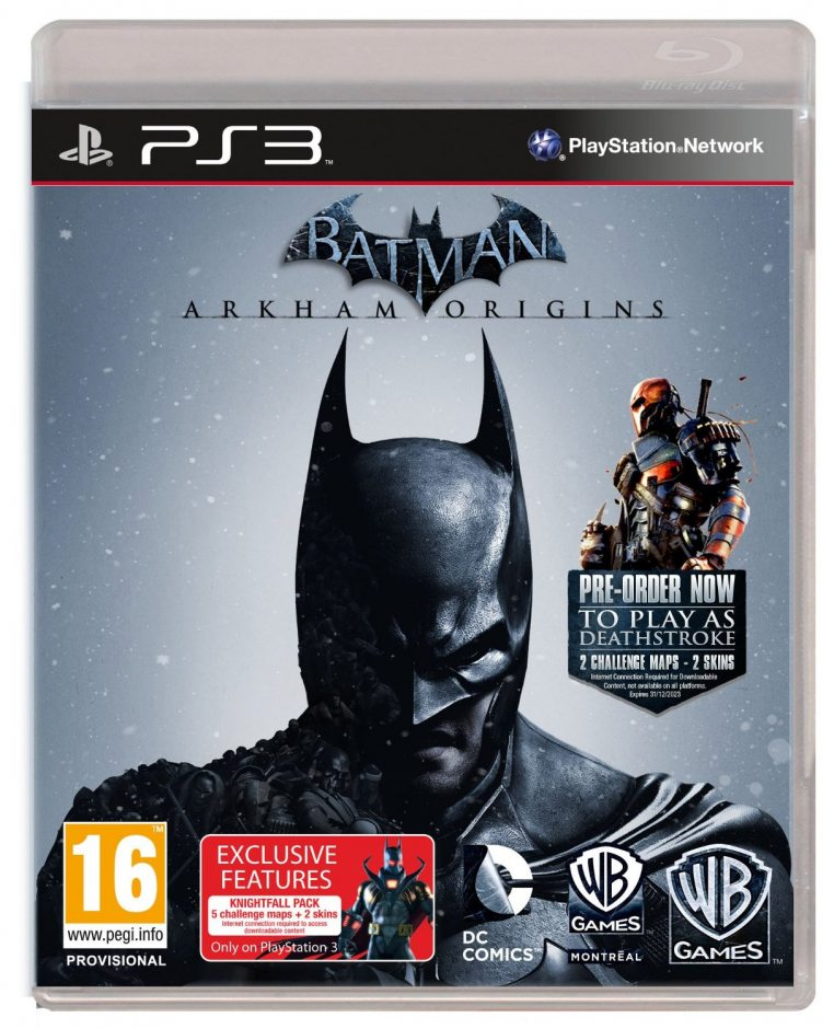 PS3 Batman: Arkham Origins (Batman: Летопись Аркхема) PS3