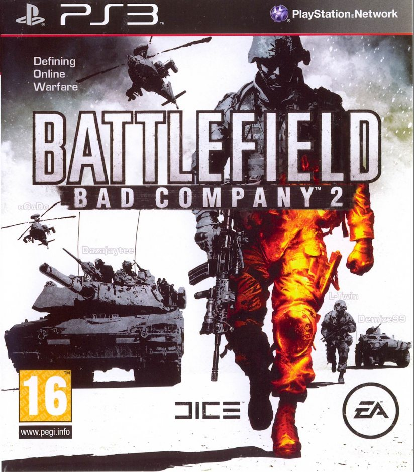 PS3 Battlefield: Bad Company 2 PS3