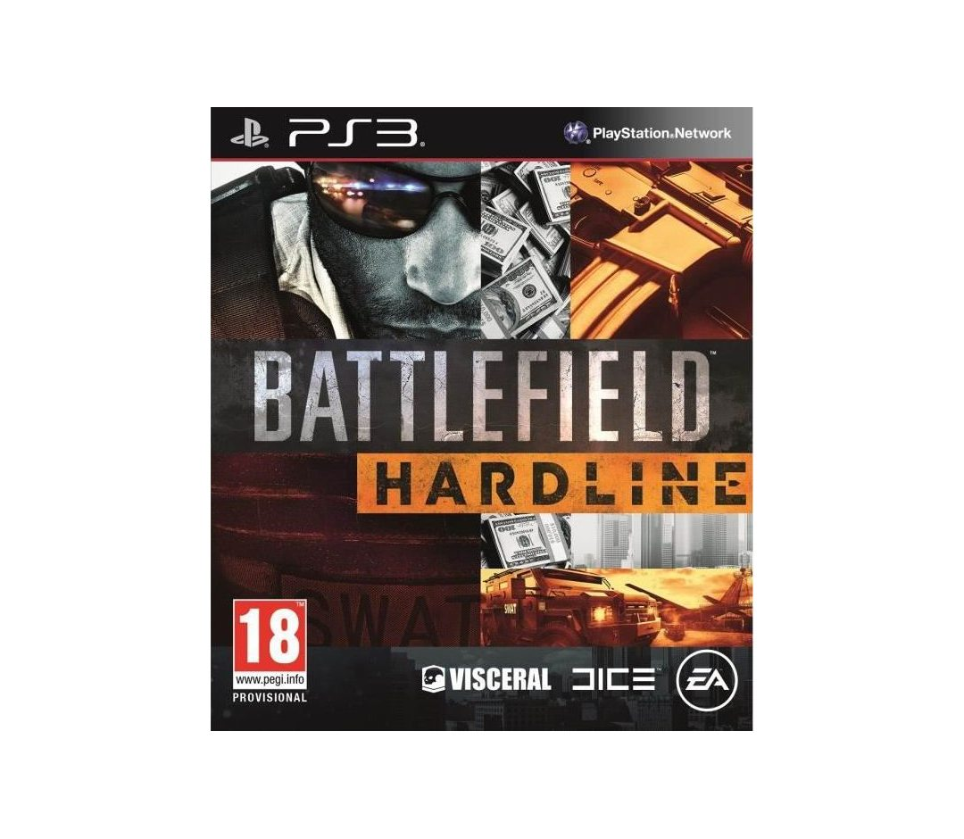 PS3 Battlefield Hardline PS3