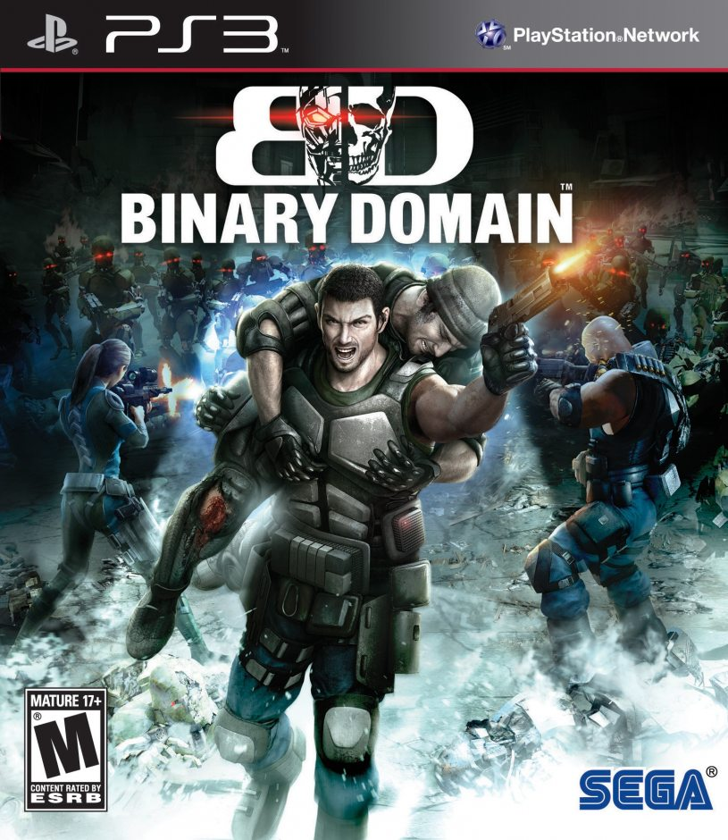 PS3 Binary Domain PS3
