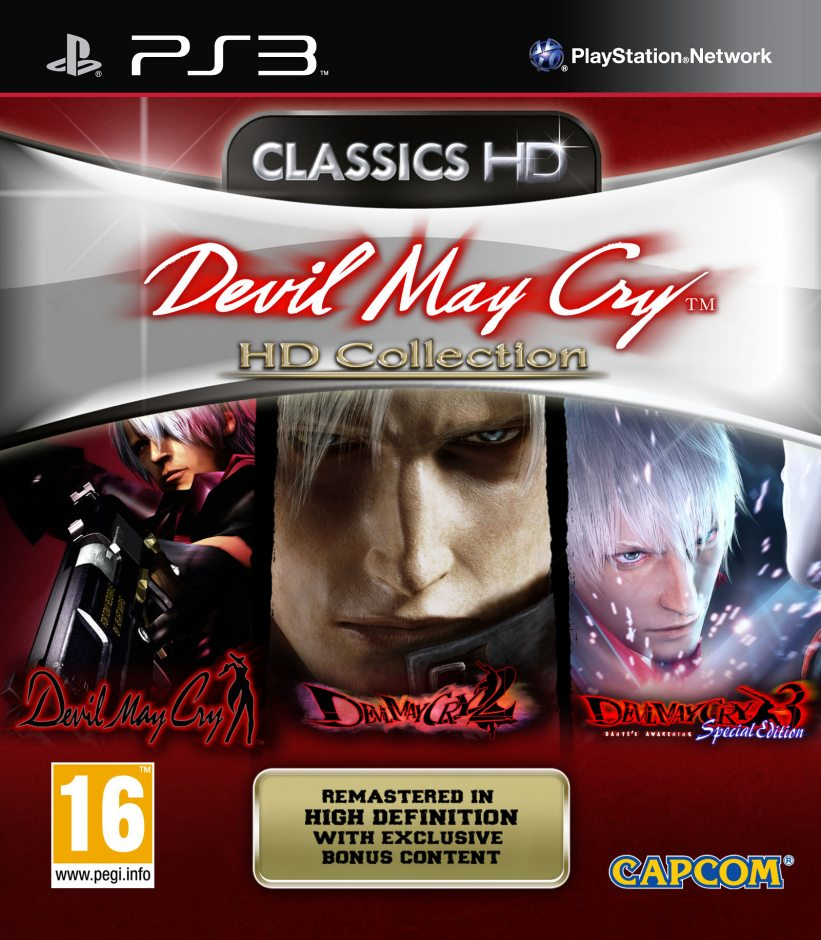 PS3 Devil May Cry HD Collection PS3