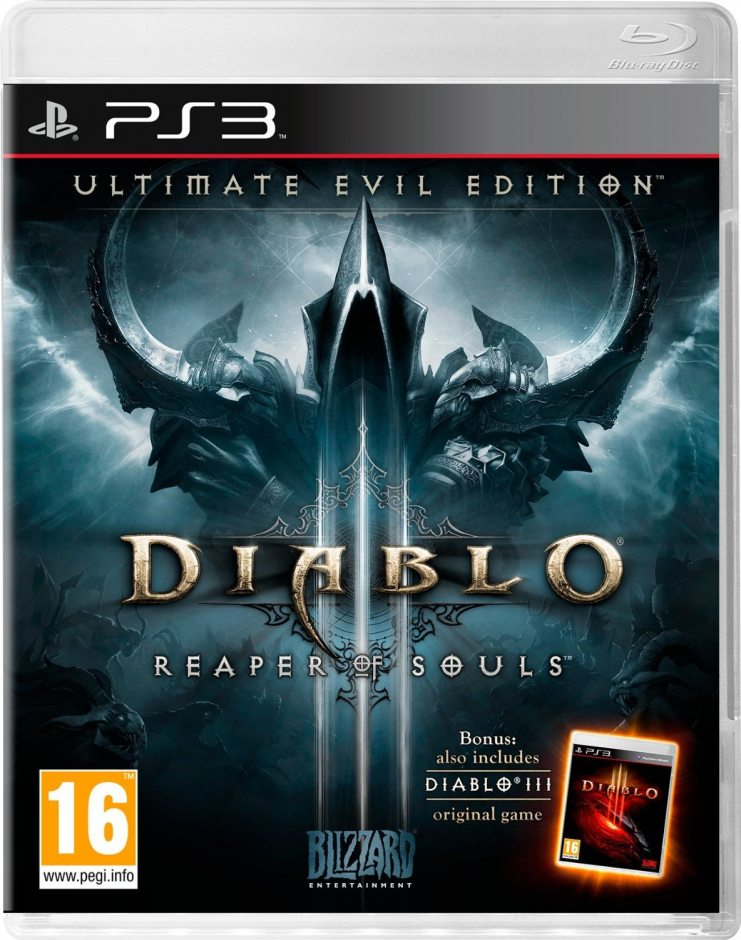PS3 Diablo III: Reaper of Souls Ultimate Evil Edition PS3