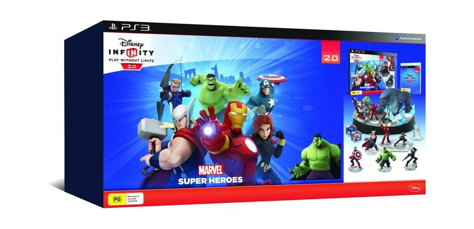 PS3 Disney. Infinity 2.0 Стартовый набор PS3