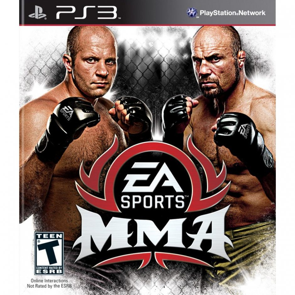 PS3 EA Sports MMA PS3