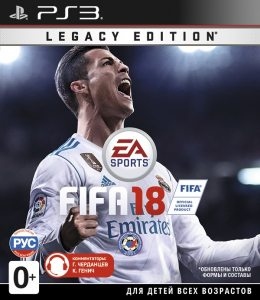 PS3 FIFA 18. Legacy Edition