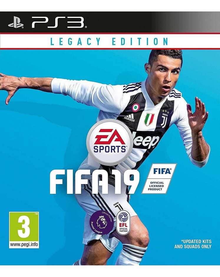PS3 FIFA 19. Legacy Edition PS3