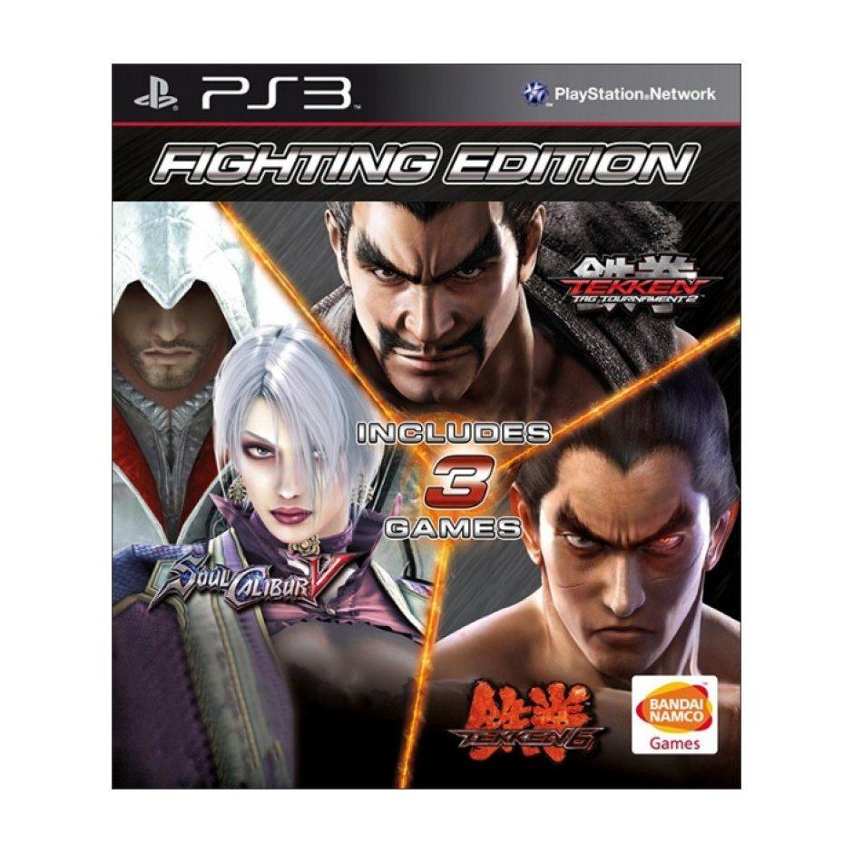 PS3 Fighting Edition (Tekken 6, Soul Calibur 5, Tekken Tag Tournament 2) PS3