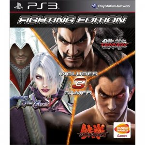 PS3 Fighting Edition (Tekken 6, Soul Calibur 5, Tekken Tag Tournament 2)
