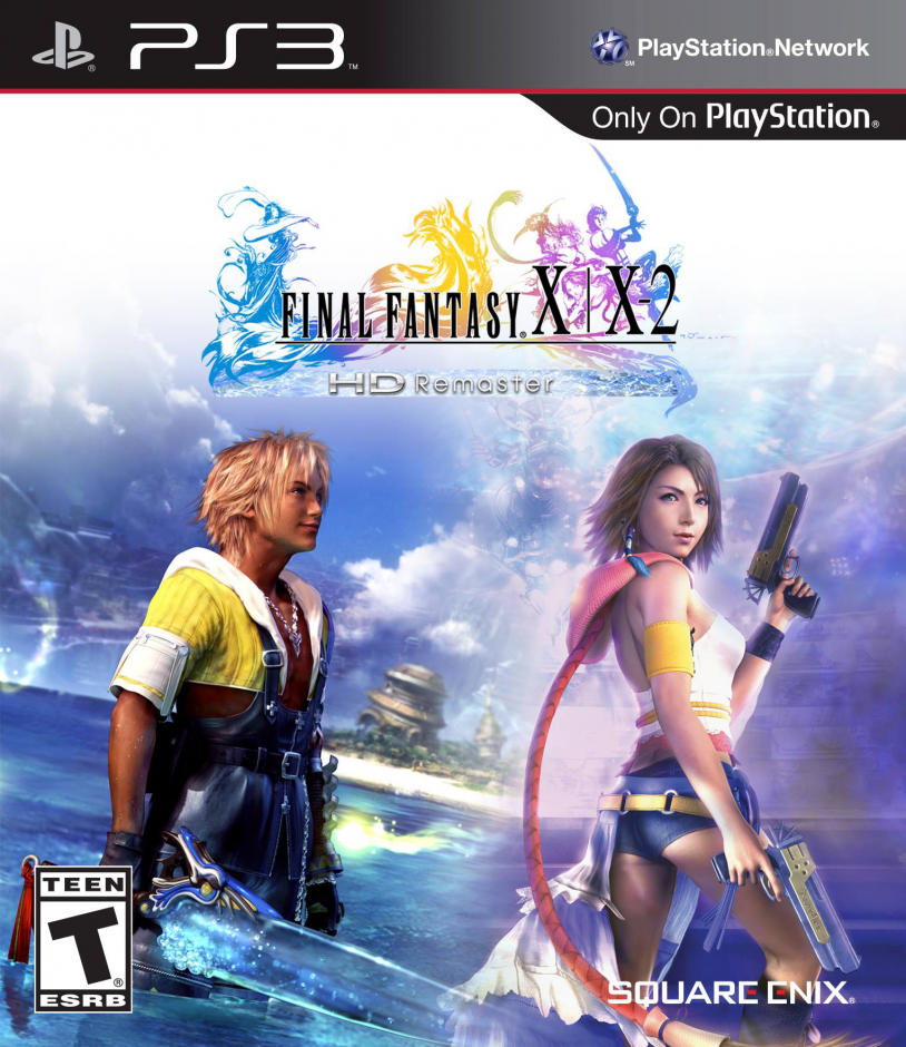 PS3 Final Fantasy X , X-2 HD Remaster PS3