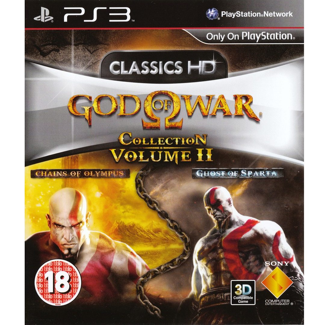 PS3 God of War Collection Volume 2 PS3