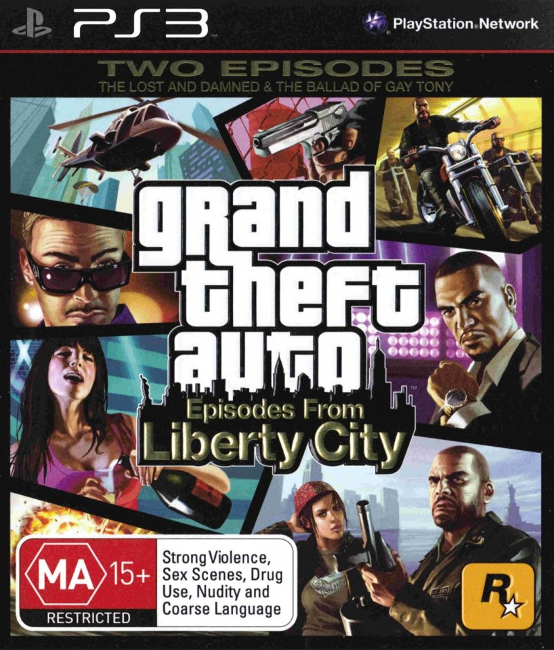 PS3 Grand Theft Auto: Episodes From Liberty City PS3