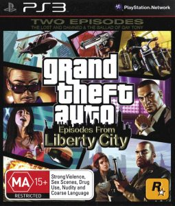 PS3 Grand Theft Auto: Episodes From Liberty City