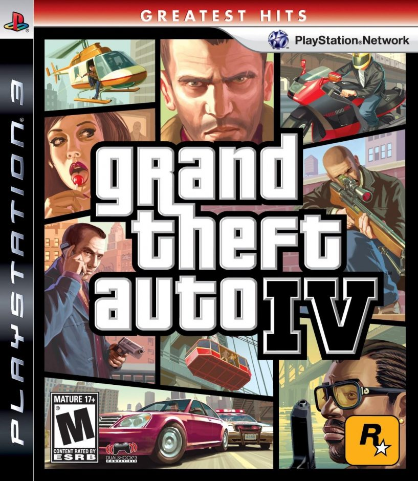 PS3 Grand Theft Auto IV PS3
