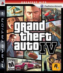 PS3 Grand Theft Auto IV