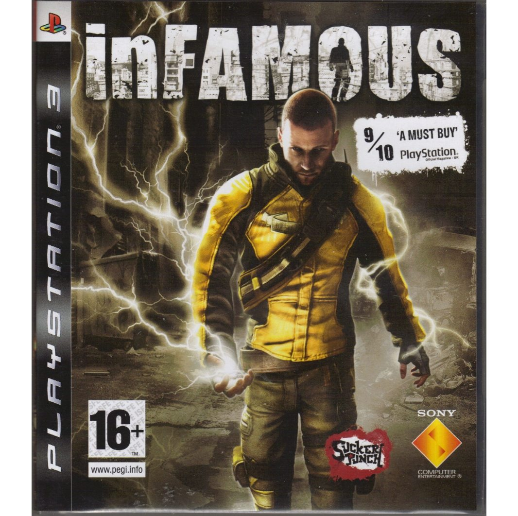 PS3 inFamous (Дурная Репутация) PS3