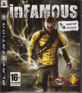PS3 inFamous (Дурная Репутация)