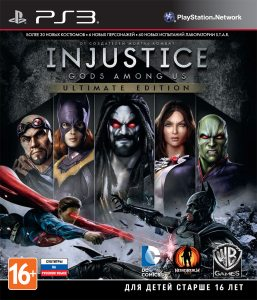 PS3 Injustice: Gods Among Us. Ultimate Edition
