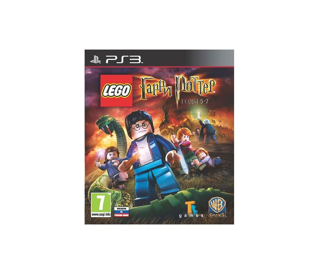 PS3 LEGO Гарри Поттер: Годы 5-7 PS3